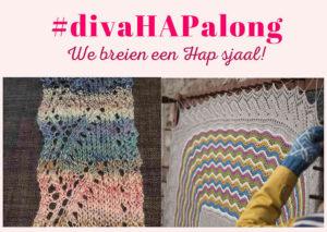 #divaHAPalong | We breien een hap sjaal!