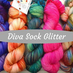 Diva Sock Glitter