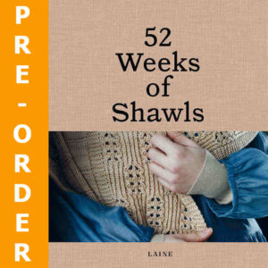 52 Weeks Of Shawls Cover | Pre Order