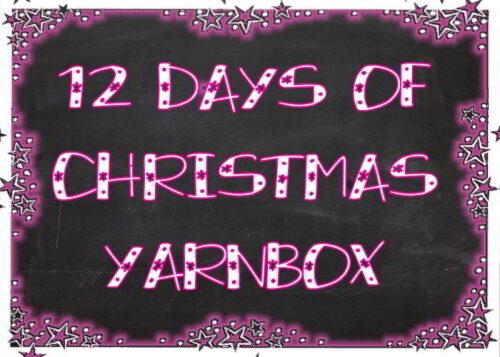 12 Days Of Christmas Yarn Box